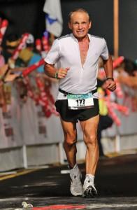 Dr Maroon Hawaian Ironman Finish